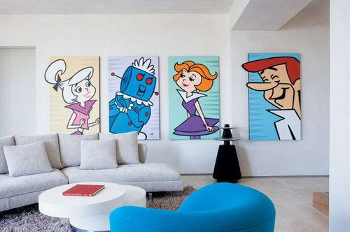 How to  Use Cartoon Theme to Decorate Your Home Without Looking Juvenile